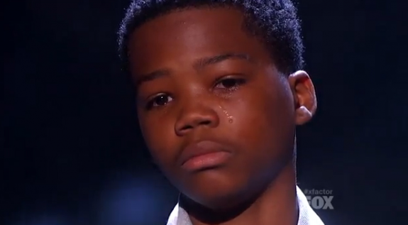 Astro Cries on X Factor - Bad Attitude