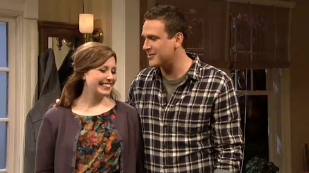 SNL: Jason Segel Makes Out With Paul Rudd &#8211; VIDEO