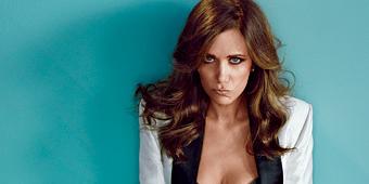 OMG! Kristen Wiig SIZZLES For GQ in Black Lingerie