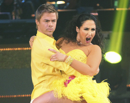 Derek Hough and Ricki Lake Finals