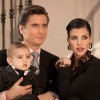 Scott Disick, Mason, and Kourtney Kardashian