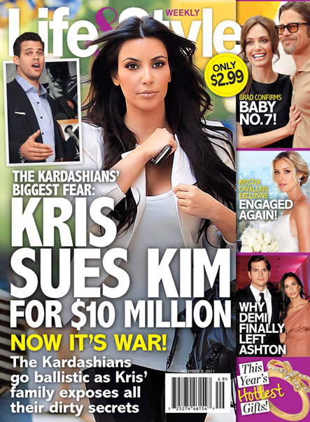 Kim Kardsahian Kris Humphries Lawsuit - Cover