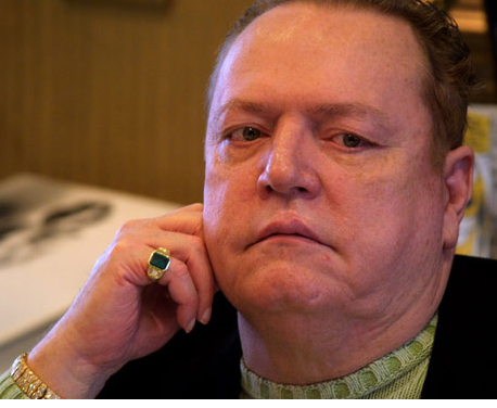 Hustler: Larry Flynt Offering $10k Reward For Friend's Killer Info.