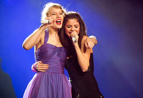 Taylor Swift and Selena Gomez Duet