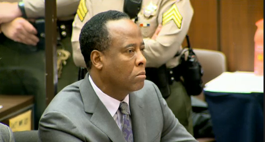 Dr. Conrad Murray Gets His Sentence