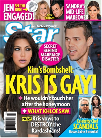 Kim Kardashian: Kris Humphries Is Gay!