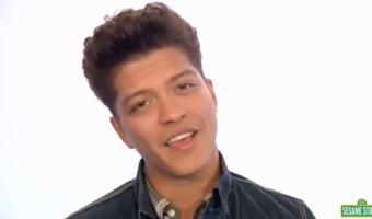 Sesame Street: Bruno Mars Rocks 'Don't Give Up' – VIDEO