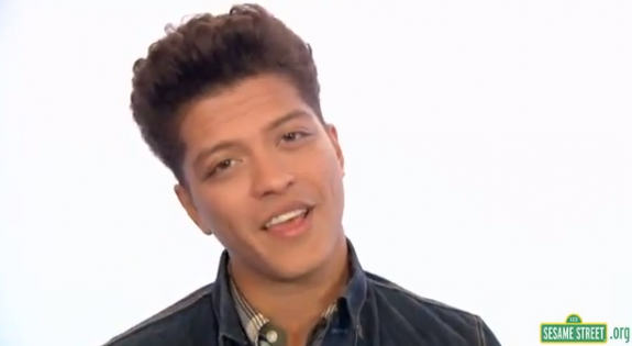 Sesame Street: Bruno Mars Rocks 'Don't Give Up' – VIDEO