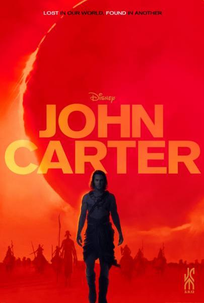 New John Carter Poster