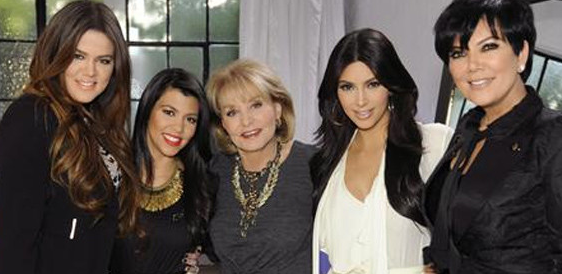 The Kardashians and Barbara Walters
