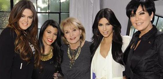 The Kardashians and Barbara Walters