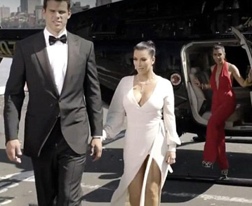 Kim Kardashian and Kris Humphries Promo Shot