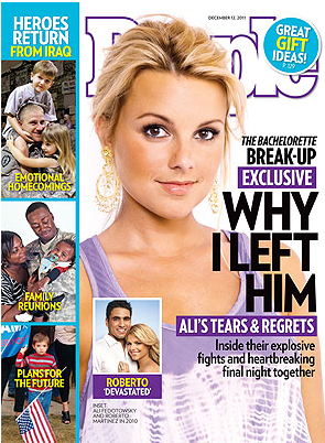 Ali Fedotowsky - People - Split Cover