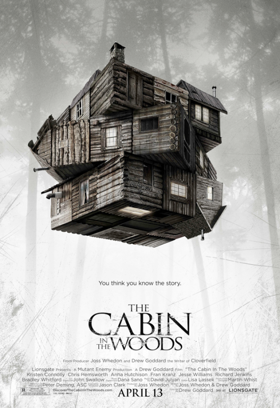 Cabin in the Woods Teaser Poster