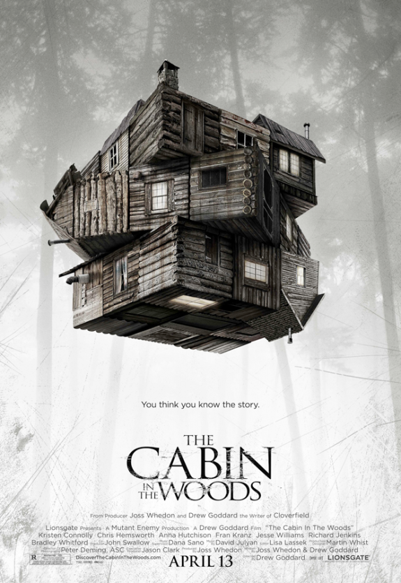 Freaky New 'Cabin in the Woods' Movie Poster Arrives