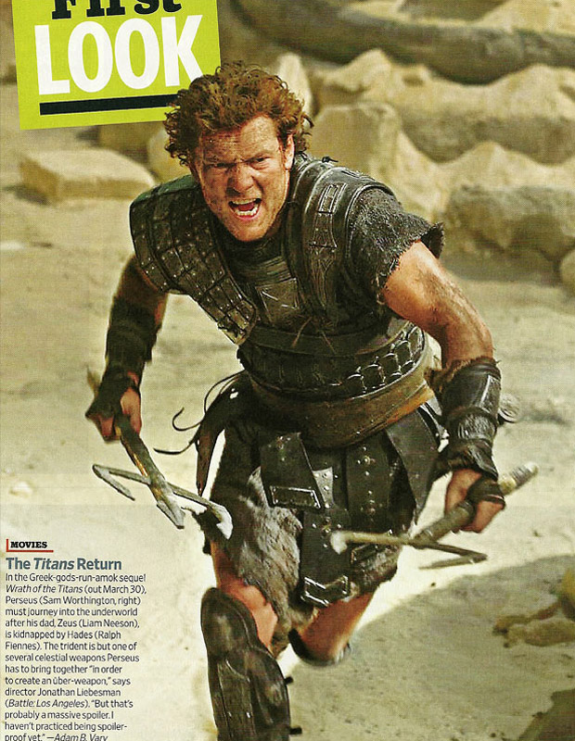 Sam Worthington as Perseus - Wrath of the Titans