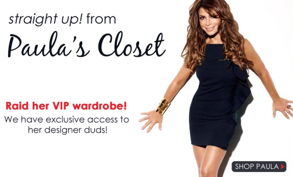 Paula Abdul Selling Her Stuff on eBay!