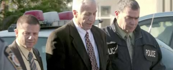 Jerry Sandusky in Custody