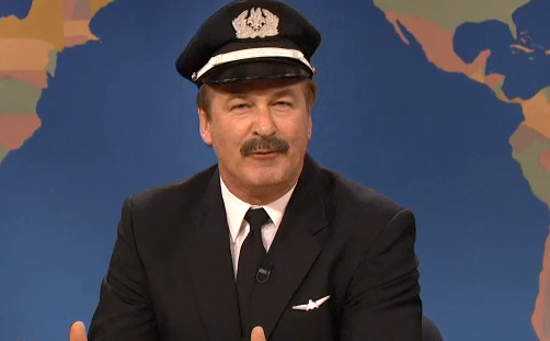 SNL: Alec Baldwin Mocks American Airlines Some More – Weekend Update Video