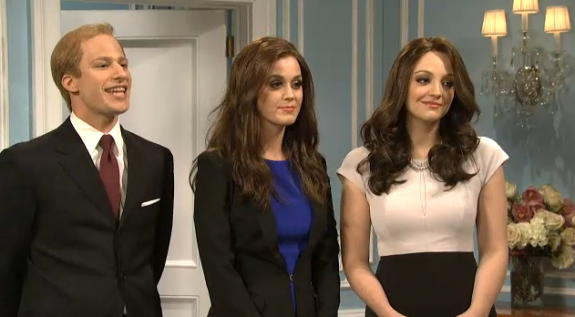 SNL: Katy Perry Does a Dirty Pippa Middleton – VIDEO