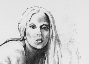 Tony Bennett: Nude Sketch of Lady Gaga FOR SALE – Details