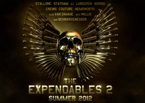 FIRST TRAILER: 'The Expendables 2′ Teaser and Poster