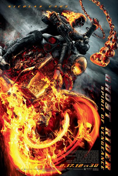 Nicholas Cage: 'Ghost Rider: Spirit of Vengeance' Trailer Has Arrived