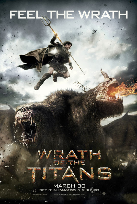 'Wrath of the Titans' Official Trailer is INTENSE!
