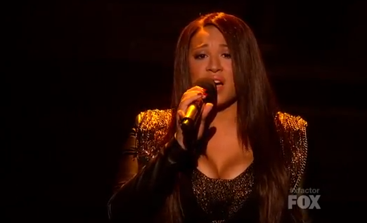 'X Factor' FINALE Dec 21 Melanie Amaro Performs 'I Believe I Can Fly' With R. Kelly VIDEO