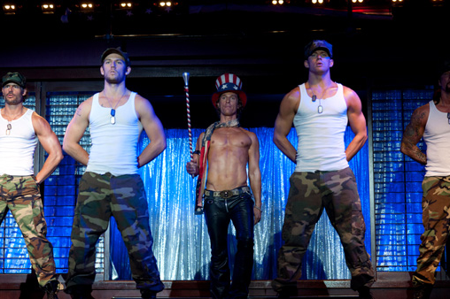 FIRST LOOK: 'Magic Mike'  Let The Stripping Begin!