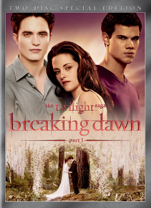 &#8216;Breaking Dawn Part 1&#8242; DVD and Blu-ray Release Date