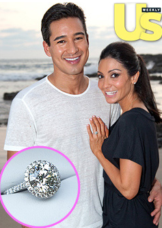 Mario Lopez and Courtney Mazza Getting Hitched in Mexico!
