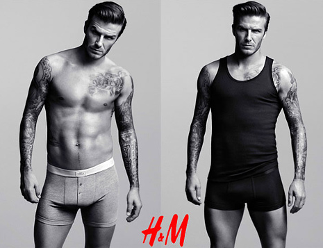 Pics: David Beckham ROCKS New H&M Line