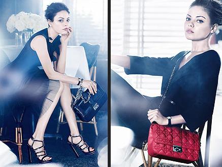 MIla Kunis - Dior Ads