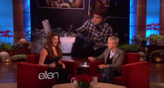 Kirstie Alley Gets a Tattoo On Ellen – VIDEO
