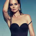 Katie Holmes Topless and Wet For Sexy Shoot
