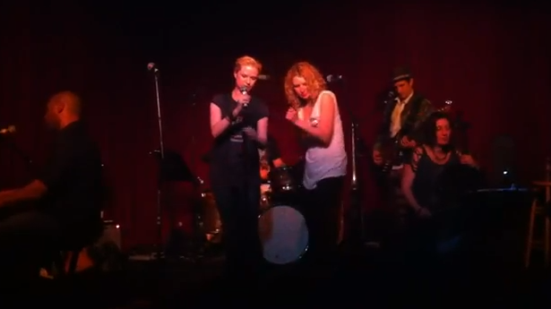 Evan Rachel Wood Rocks The Stage Singing 'Son Of A Preacher Man' VIDEO