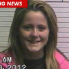 Jenelle Evans Jan 2012 Mug Shot - Teen Mom