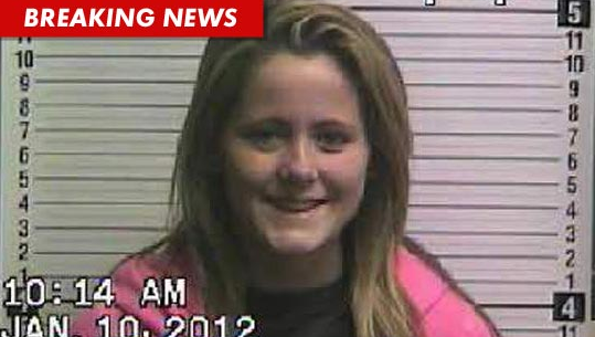 Teen Mom: Jenelle Evans Keeps Up The Trashy Image, New Mug Shot