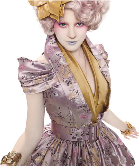 Check Out Effie Trinket in 'The Hunger Games'