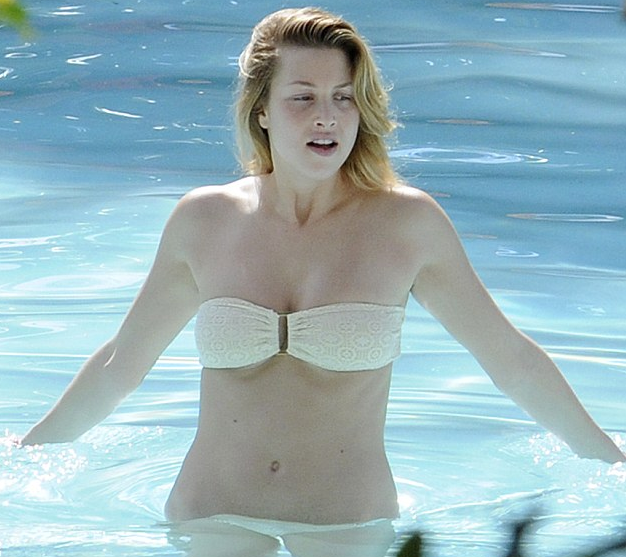 PHOTOS: Oops!  Whitney Port Loses Her Bikini Top!