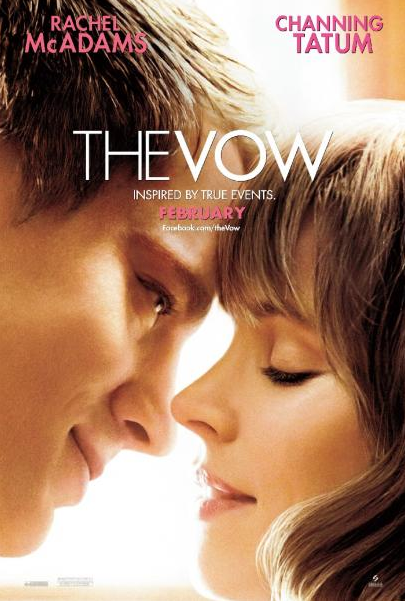NEW CLIP: &#8216;The Vow&#8217; Starring Rachel McAdams and Channing Tatum