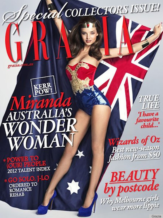 Miranda Kerr is THE Wonder Woman of The Century – Photo, VIDEO