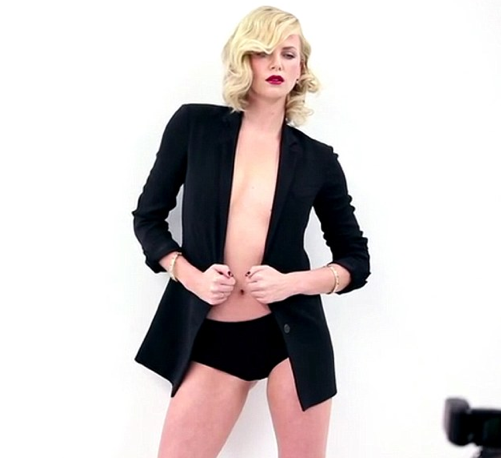 Charlize Theron ROCKS a Bikini For Vanity Fair – Photos, Video
