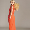 Kesha in Glamour - Orange Dress