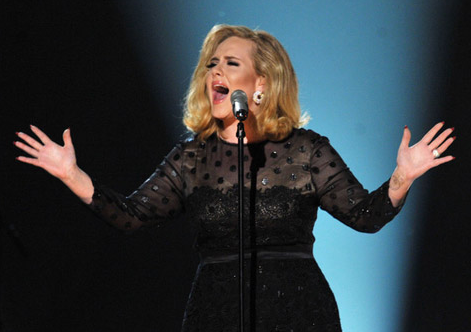 2012 Grammys: Adele 'Rolling in the Deep' Video