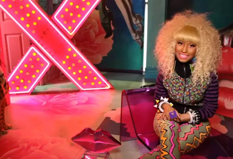VIDEO: Nicki Minaj Rocks The 'VIVA GLAM' Ad Campaign