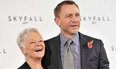 Judi Dench is Losing Her Sight