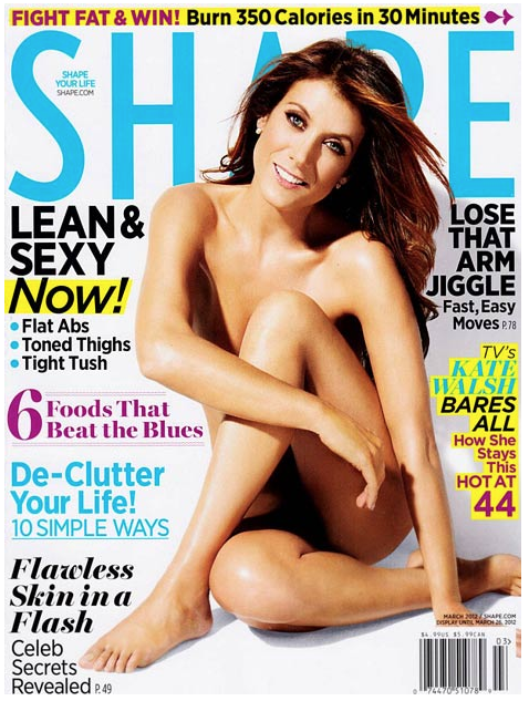 Kate Walsh Shows Off Her Shape, Naked