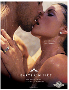 The Bachelor - Courtney Robertson - Hearts on Fire Ads -2